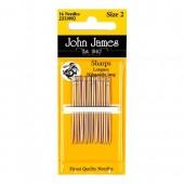 John James Sharps Needles - Size 3/9
