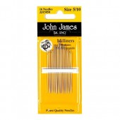 John James Milliners Needles - Size 5/10
