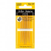 John James Long Darner Needles - Size 1/5