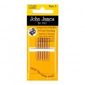John James Large Eye Needles - Size 5