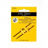 John James Heavy Embroidery Needles - Size 14