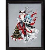 MD100 - Winter White Santa