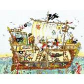 XCT7 - Cut Thru Pirate Ship