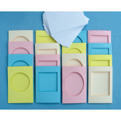 Pastel Card Pack 16 Cards And Envelopes