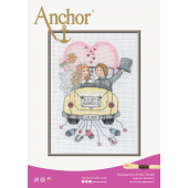Anchor Just Married cross stitch chart