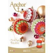 Anchor Crochet Bauble