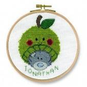 DMC Me to You Apple Beanie Cross Stitch Kit - BK1165/72