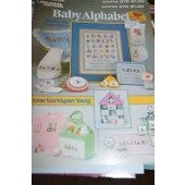 Leisure Arts Baby Alphabet Cross Stitch Chart Leaflet