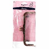 Hemline Bag Clasp Rose Gold 180mm