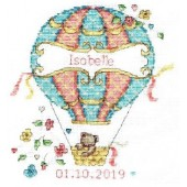 DMC Balloon baby Cross Stitch Kit BK1878