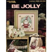 Leisure Arts Keepsake Be Jolly Cross Stitch Chart Leaflet