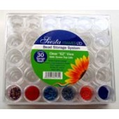 Siesta - Bead Storage Box - 30 jar