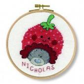 DMC Me to You Berry Beanie Cross Stitch Kit - BK1164/72