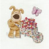 BL1052/68 - Boofle Gardening Cross Stitch Kit