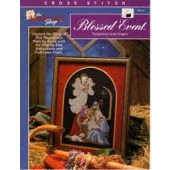 The Needlecraft Shop Blessed Event Cross Stitch Chart Leaflet