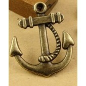 Anchor Bronze Tone Charms 3 Pack