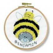 DMC Me to You Bumble Beanie Cross Stitch Kit - BK1163/72