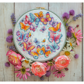 Cross Stitcher Project Pack - Find Your Wings - 14ct Aida- XST360