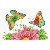 DMC Butterfly Garden Cross Stitch Kit - BK1545