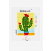 C06N86K - I Can Stitch! - The Cactus Tapestry Starter Kit