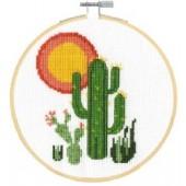DMC Cactus Cross Stitch Kit - BK1911