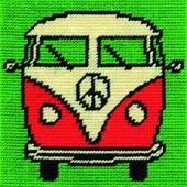 C050K - Camper Van Gobelin Printed Tapestry Starter Kit
