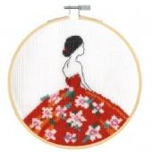 DMC Carmen Flowers Cross Stitch Kit - BK1915