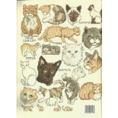 Leisure Arts Cats Cross Stitch Chart Leaflet
