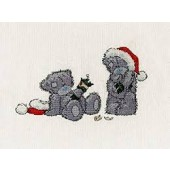 BL1094/72 - Me to You Tatty Teddy Christmas Crackers Cross Stitch Kit