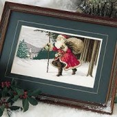 Leisure Arts Christmas Journey Cross Stitch Chart Leaflet