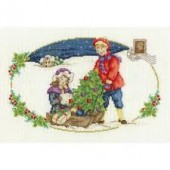 DMC BK1581 - The Christmas Tree Cross Stitch Kit