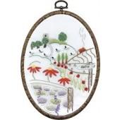 TK124 - Church View DMC Embroidery Kit