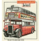 CLD159 - London Double Decker Bus Chart Pack