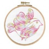 BL1152/74 - Cloud Surfing - Little Birds Printed Embroidery Kit