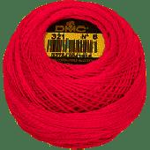 DMC Pearl / Perlé  Cotton: Size 8 80m ball - 321