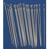 Embroidery/Crewel Needles - Size 9 (Pack of 10)