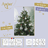 Anchor Crochet Snowflakes Kit Set 1