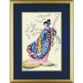 Dimensions Gold Petites Elegant Geisha  - D6953