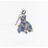 DMC Daffodil Dance Cross Stitch Kit - BK1792