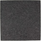Rico Punched Felt Cushion To Cross Stitch - Dark Grey