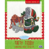 BL1096/72 - Me to You Tatty Teddy Delivering Christmas Gifts Cross Stitch Kit
