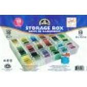 DMC Thread Storage Box - Inlcudes 50 Bobbins
