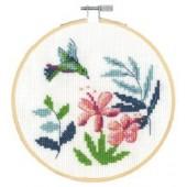 DMC Exotic Flowers Cross Stitch Kit - BK1912