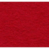 Felt Square Crimson 30% Wool - 9in / 22cm