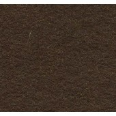 Felt Square Dark Brown 30% Wool - 9in / 22cm