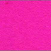 Felt Square Shocking Pink 30% Wool - 9in / 22cm