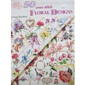American School of Needlework - 50 Floral Designs Cross Stitch Chart Booklet