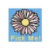 C049K - Flower Gobelin Printed Tapestry Starter Kit