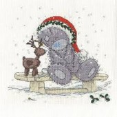 BL1097/72 - Me to You Tatty Teddy Friends in the Snow Cross Stitch Kit