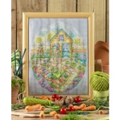 Cross Stitcher Project Pack - Spring Garden - XST342